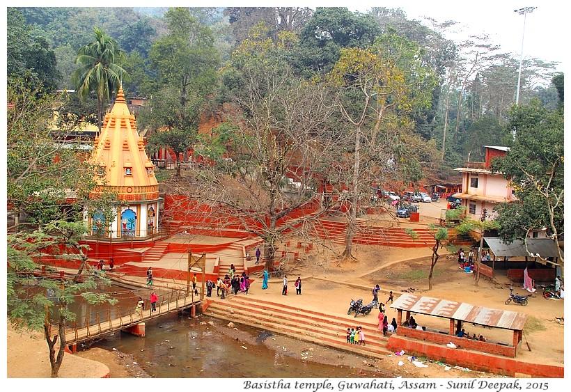Guwahati City Walks - Basistha temple - Images by Sunil Deepak