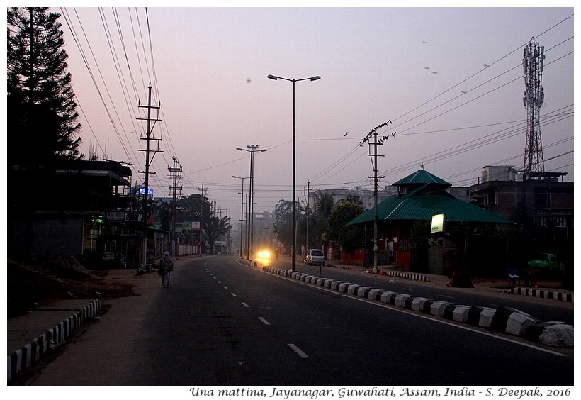 Una mattina a Guwahati, Assam India - Images by Sunil Deepak