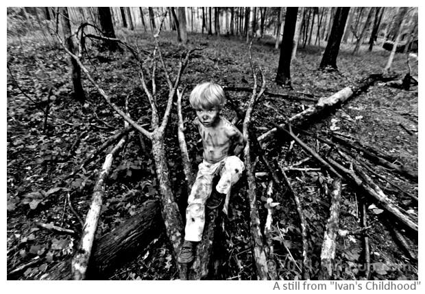 Stills from Ivan's Childhood