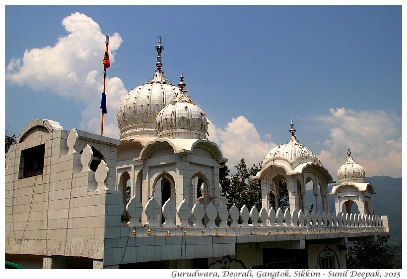 Gurudwara, Gangtok, Sikkim, India - Images by Sunil Deepak