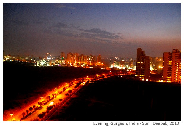 Gurgaon, India - immagini di Sunil Deepak