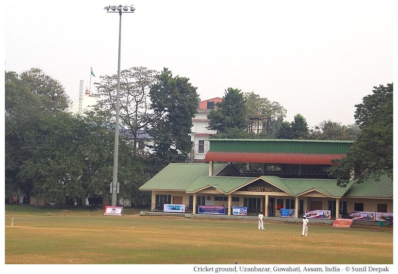 Cricket grounds, Guwahati, Assam, India