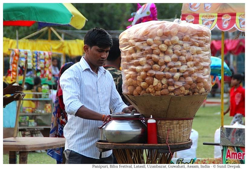 Paanipuri, Latasil grounds, Guwahati, Assam, India