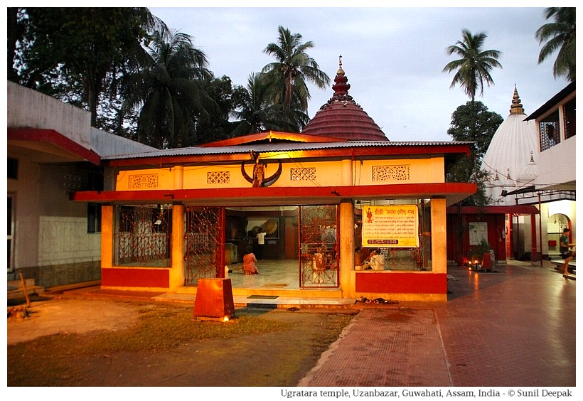 Ugratara temple, Guwahati, Assam, India