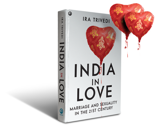 Book cover India in Love by Ira Trivedi
