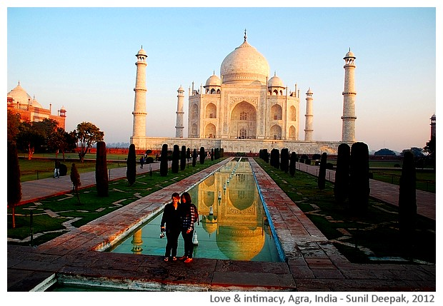 Images on love & intimacy from around the world by Sunil Deepak, 2014
