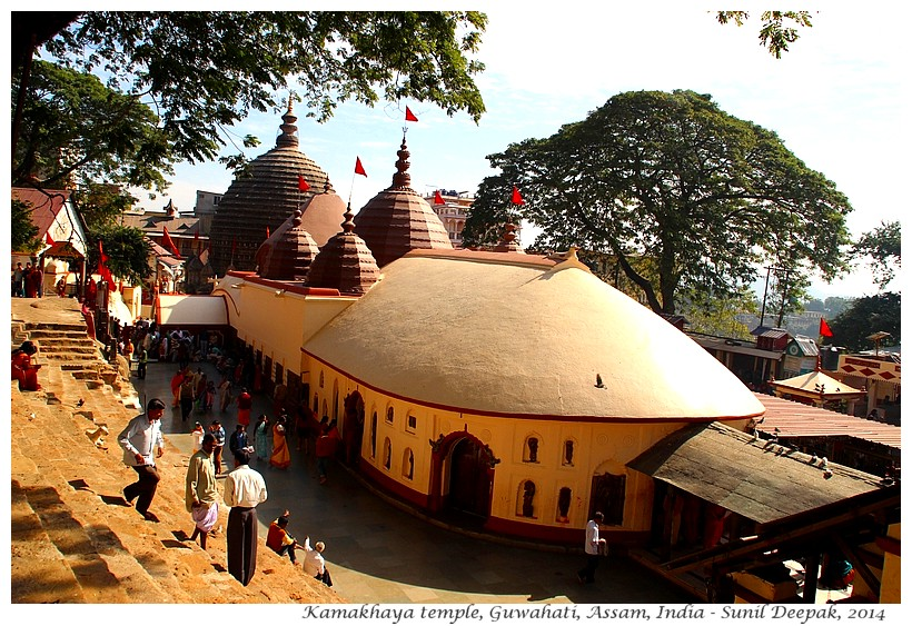 Kamakhaya temple, Guwahati, Assam, India - Images by Sunil Deepak