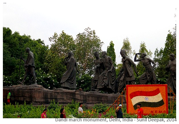 Freedom monuments from Asia, Africa, Americas and Europe - Images by Sunil Deepak, 2014