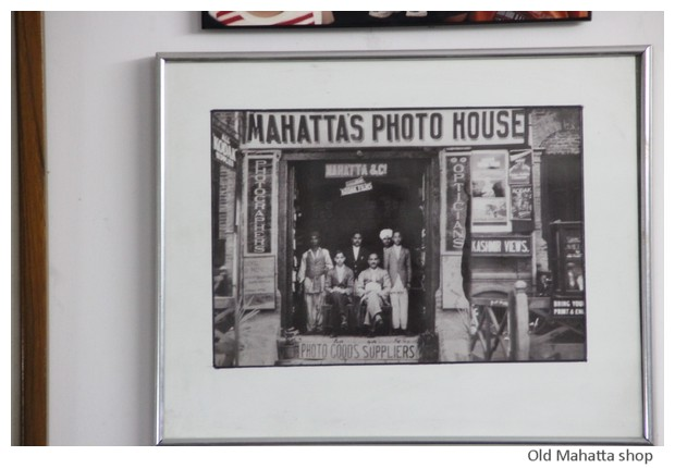 Madan Mahatta photographers, Delhi, India - images by Sunil Deepak, 2014