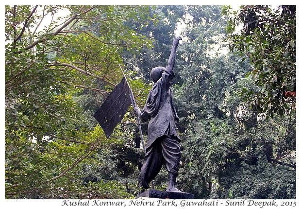 Kushal Konwar, Guwahati, Assam, India - Images by Sunil Deepak