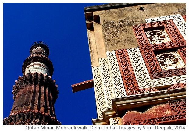 Delhi Metro Walks - Mehrauli, India - Images by Sunil Deepak, 2014