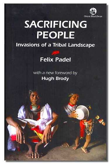 Sacrificing people by Felix Padel, book cover