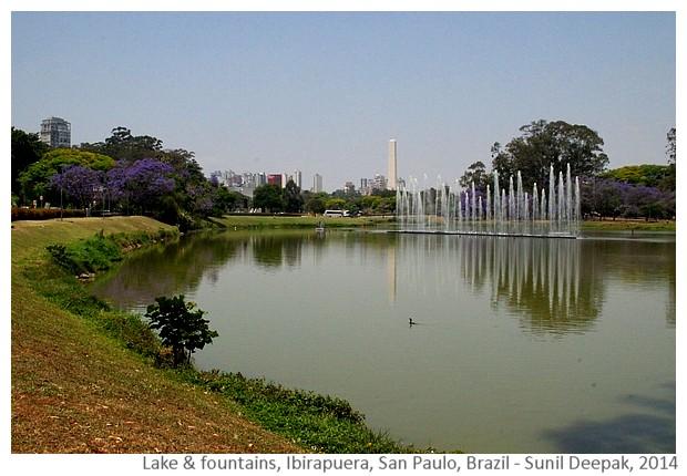 Lake Ibirapuera San Paulo, Brazil - Images by Sunil Deepak, 2014