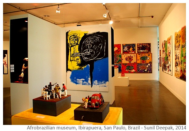 Afro-Brazilian museum, San Paulo, Brazil - Images by Sunil Deepak, 2014