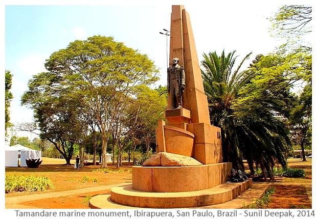 Tamandare marine monument, San Paulo, Brazil - Images by Sunil Deepak, 2014