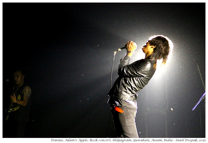 Adam's Apple, Rock Music Concert, Guwahati, Assam, India - Images by Sunil Deepak