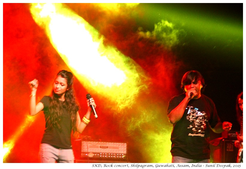 SKD, Rock Music Concert, Guwahati, Assam, India - Images by Sunil Deepak