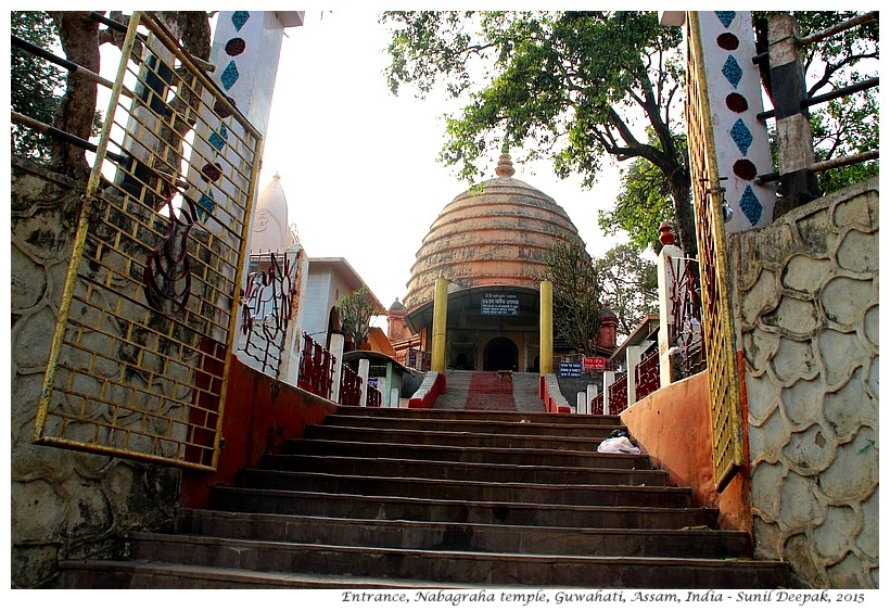 Nabagraha temple, Guwahati, Assam, India - Images by Sunil Deepak