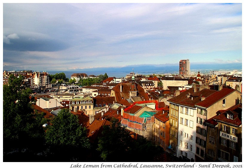 Lake, Lausanne, Switzerland - Images by Sunil Deepak