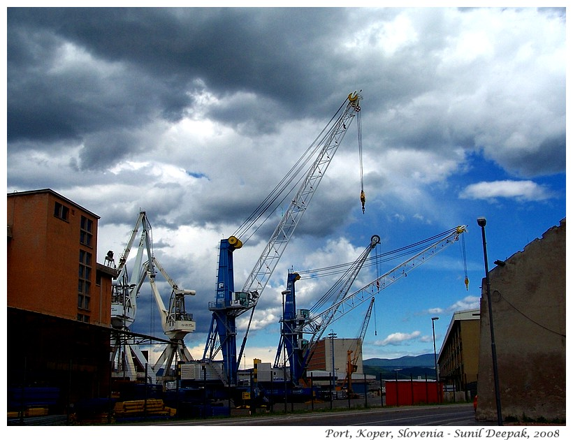 Port of Koper, Slovenia - Images by Sunil Deepak