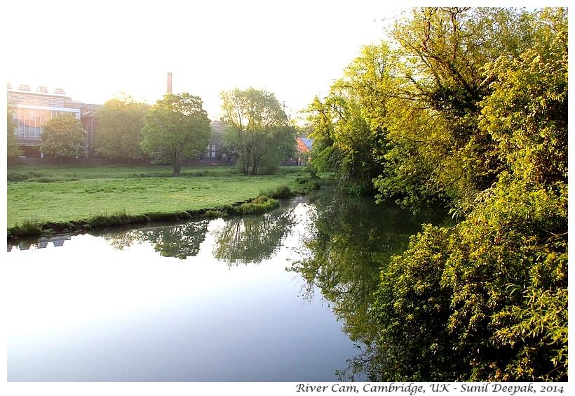 River Cam, Cambridge, UK - Images by Sunil Deepak