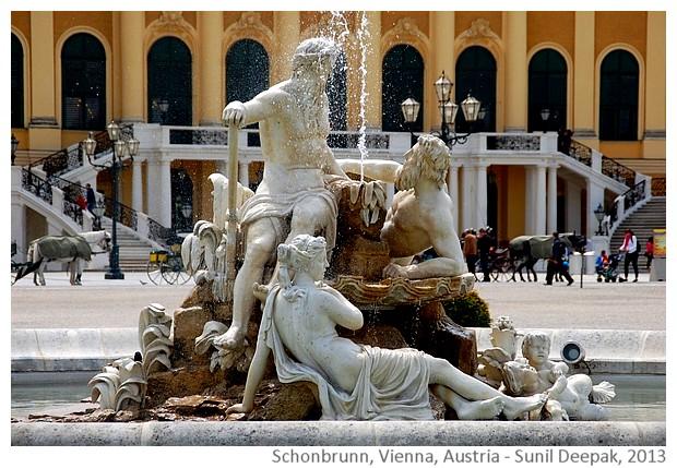 Schonbrunn entrance, Vienna, Austria - Images by Sunil Deepak, 2013