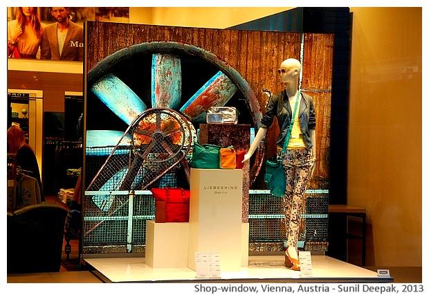 Mannequins, Vienna, Austria - images by Sunil Deepak, 2013