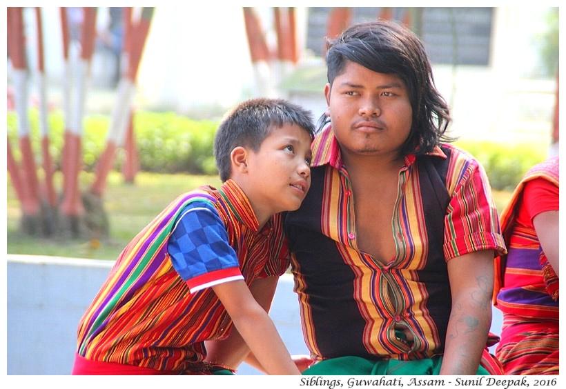 Siblings, Guwahati, Assam - Images by Sunil Deepak