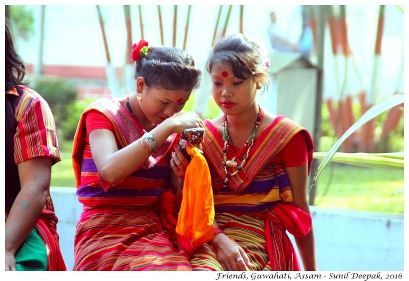 Friends, Guwahati, Assam - Images by Sunil Deepak