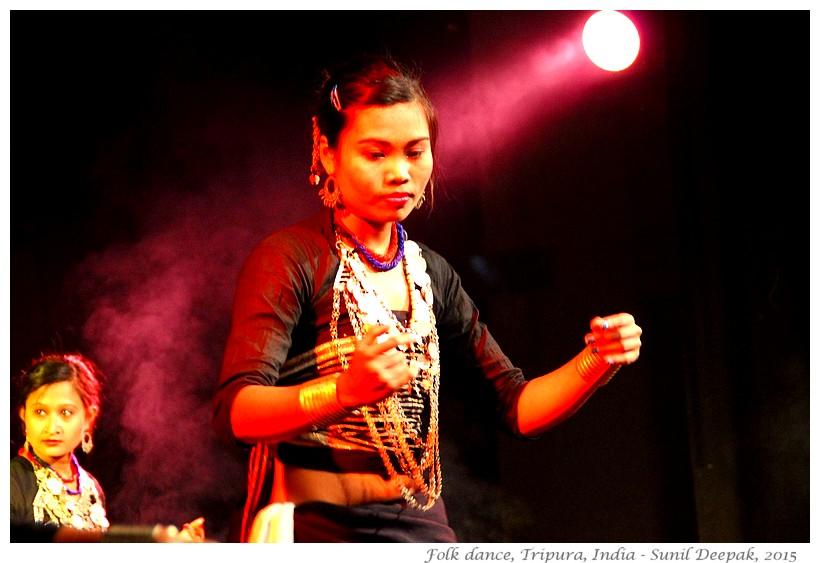 Hojagiri dance Tripura at NYF, Guwahati, Assam India - Images by Sunil Deepak