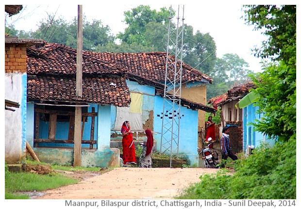 Village Maanpur, district Bilaspur, Chattisgarh India - images by Sunil Deepak, 2014