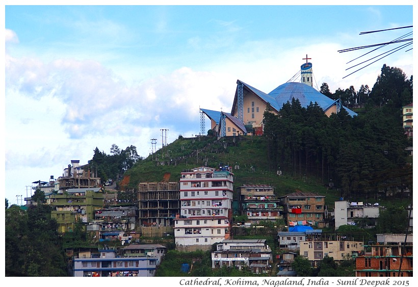 Cathedral, Kohima, Nagaland, India - Images by Sunil Deepak