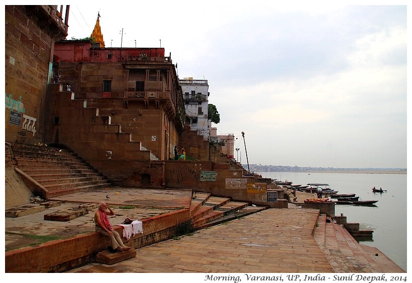Morning, Varanasi, India - Images by Sunil Deepak