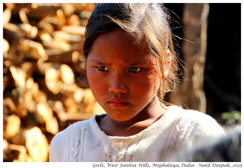 Young girls, West Jaintia hills district, Meghalaya, India - Images by Sunil Deepak