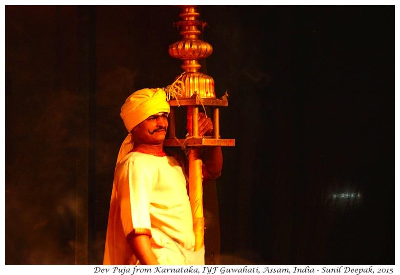 Dev Puja dance from Karnataka, India - Images by Sunil Deepak
