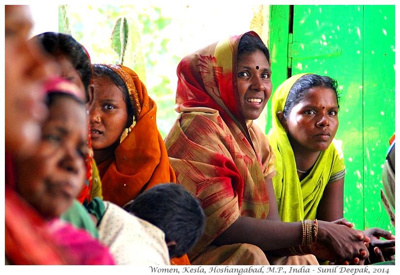 Village women, Kesla, Hoshangabad, Madhya Pradesh, India - Images by Sunil Deepak