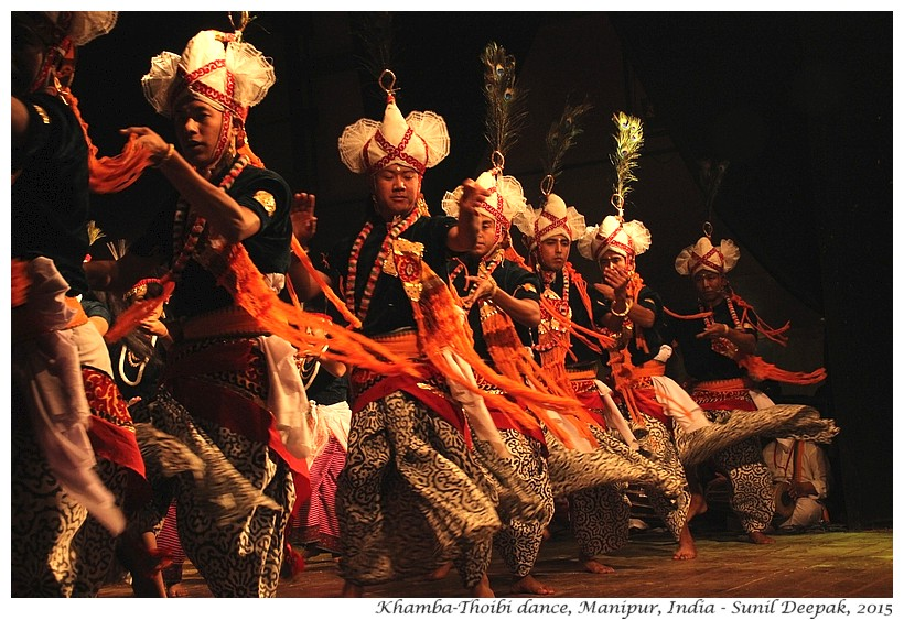Khmba-Thoibi folkdance, Manipur, India - Images by Sunil Deepak