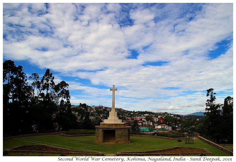Second world war cemetery, Kohima, Nagaland, India - Images by Sunil Deepak
