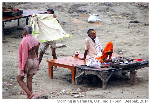 Varanasi morning, UP, India - Images by Sunil Deepak