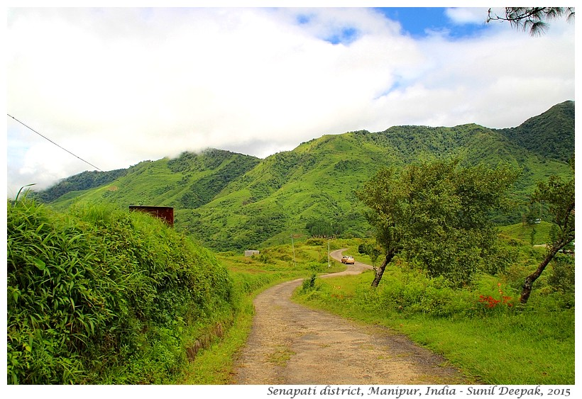 Mountains, Nagaland-Manipur border, India - Images by Sunil Deepak