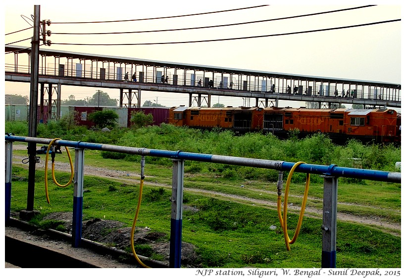 NJP station, Siliguri, West Bengal, India - Images by Sunil Deepak
