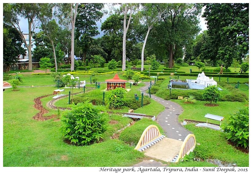 Heritage park, Agartala, Tripura, India - Images by Sunil Deepak