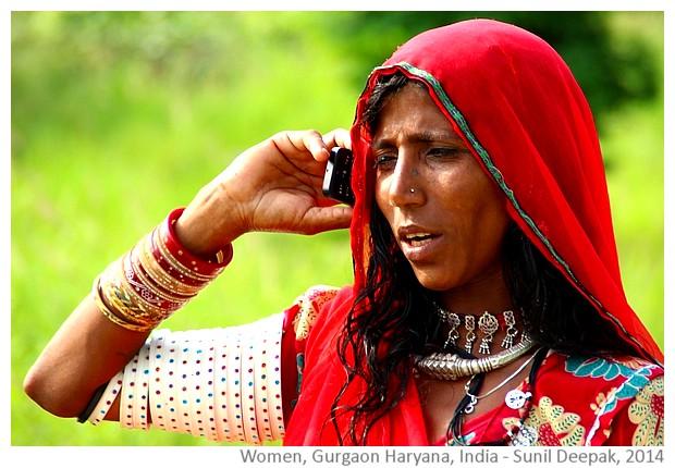Woman, Gurgaon Haryana India - Sunil Deepak, 2014