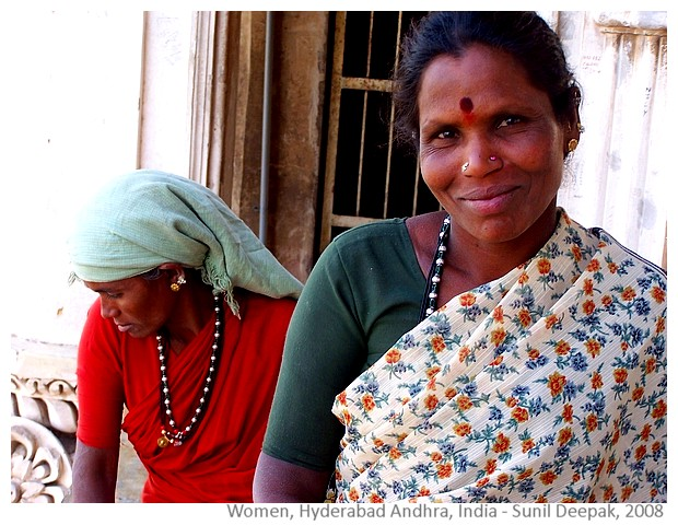 Woman, Hyderabad Andhra India - Sunil Deepak, 2008