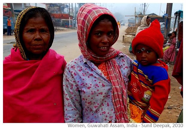 Woman, Guwahati Assam India - Sunil Deepak, 2010