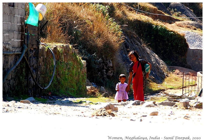 Women, Meghalaya, India - Images by Sunil Deepak