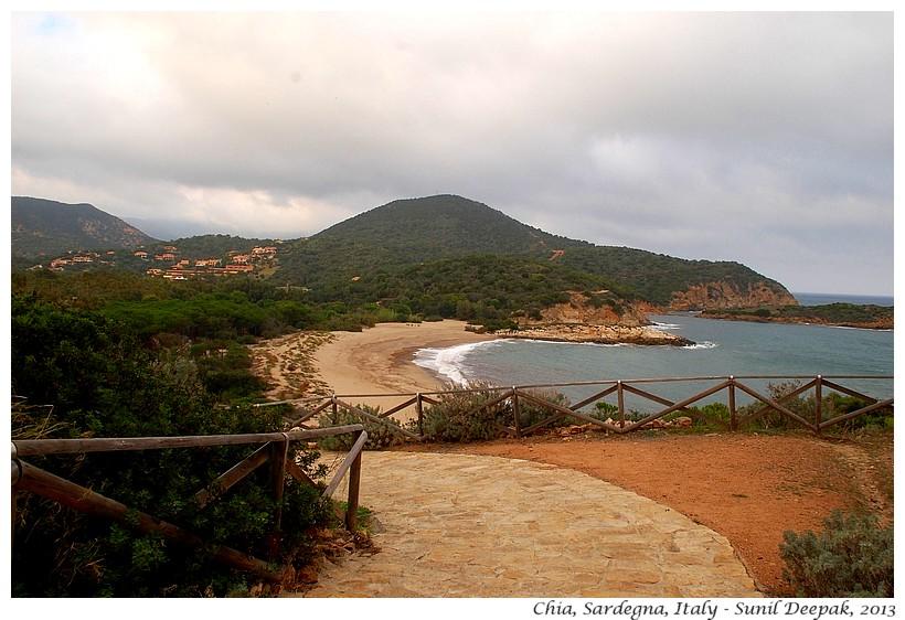 Beach, Chia, Sardegna, Italy - Images by Sunil Deepak