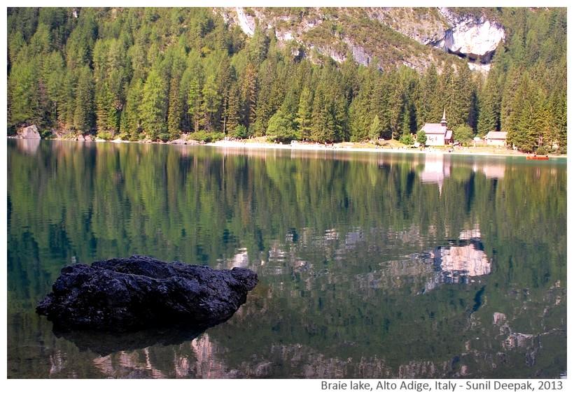 Braie lake, South Tyrol, Italy - Images by Sunil Deepak, 2013