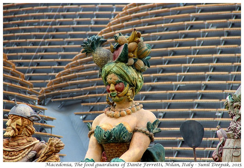 Guardians of food by Dante Ferretti, Expo 2015, Milan, Italy - Images by Sunil Deepak