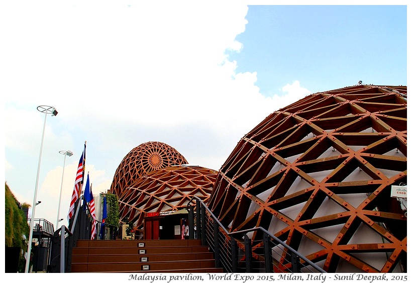 Malaysia pavilion, Expo 2015, Milan, Italy - Images by Sunil Deepak